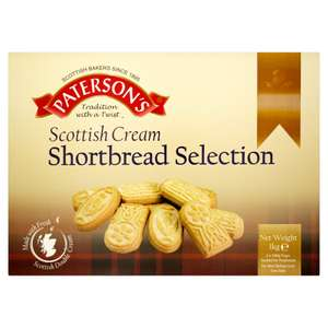 Paterson's Scottish Cream Shortbread Selection 1kg  @ Iceland    £2          in store Tuesday 19th