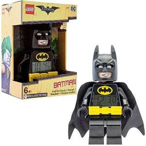 DC Comics Lego Batman Movie Batman Kids Minifigure Alarm Clock Official (£12 prime / £16.75 non prime)