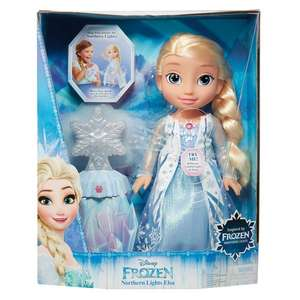 Disney Frozen Northern Lights Elsa Doll - £15 @HomeBargains