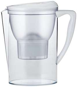 AmazonBasics Water Filter Jug 2.3L - White £9.34 - £20 Minimum Spend