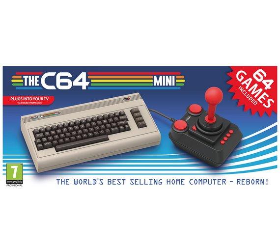 Mini Commodore 64 Pre-Order Console at Argos for £69.99