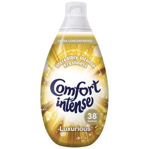Comfort Intense Luxurious  Fabric Conditioner, 3.42 L - 228 Washes (38 Washes x Pack of 6) £12 Prime / £16.75 Non Prime / £11.10 S+S @ Amazon