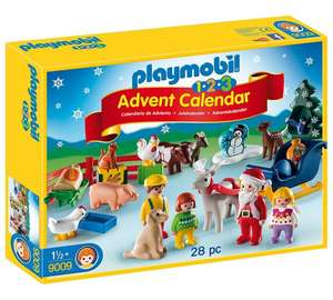 Playmobil 123 farm advent calendar now £9.99 at Argos and Amazon (Prime Exclusive)