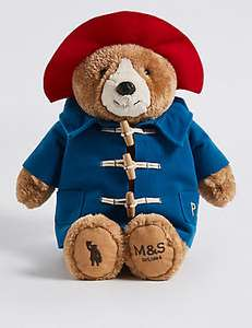 M&S Paddington Bear plush Back in stock again! £12 @ M&S