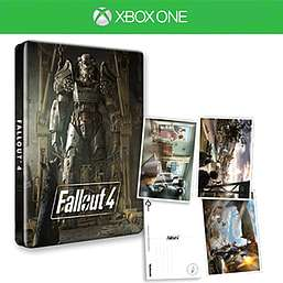 Fallout 4 Steelbook & Postcards Xbox one / PS4 New £9.99 @ Game