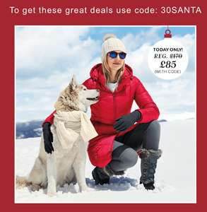 Landsend 30% off Everything Plus 50% off women's down coat with code (+ £3.95 Del)