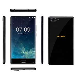 Amazon Lightening Deal £139.99: Doogee MIX Smartphone 5.5 Inch 6GB RAM 64GB ROM Android 7.0 4G Smart phone 6GB RAM 64GB ROM Helio P25 2.5GHz CPU Front and Double Back Cameras (6GB+64GB, Blue + Black) (Sold by GBLifeTech and Fulfilled by Amazon.)