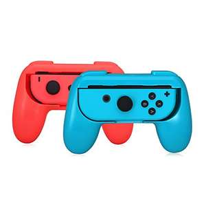 Joy-con Grip Kits (2-pack, Blue and Red) WAS £59.99 NOW £12.99 Prime / £15.98 non prime Sold by Lammcou-Europe and Fulfilled by Amazon