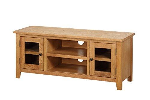 TV Unit, Wood, Oak, Large - £132.62 @ Amazon.co.uk