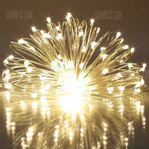 5m LED Xmas lights - 75p at Gearbest