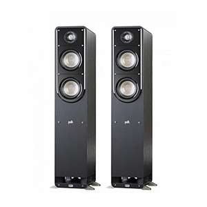 Polk S50 Floorstanding Speakers Pair Black - £285 delivered @ Superfi / Amazon