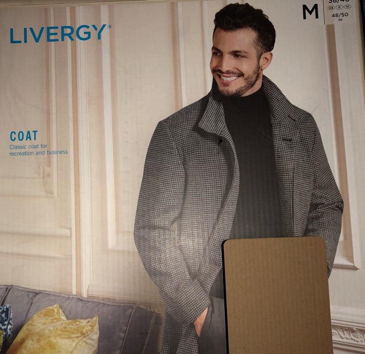 Lidl Men's Coat - £24.99 instore