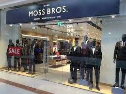 Moss Bros 20% off suits and trausers on top of sale