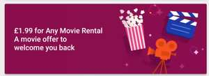 Google Play Movies £1.99 for any movie rental  (possibly account specific)