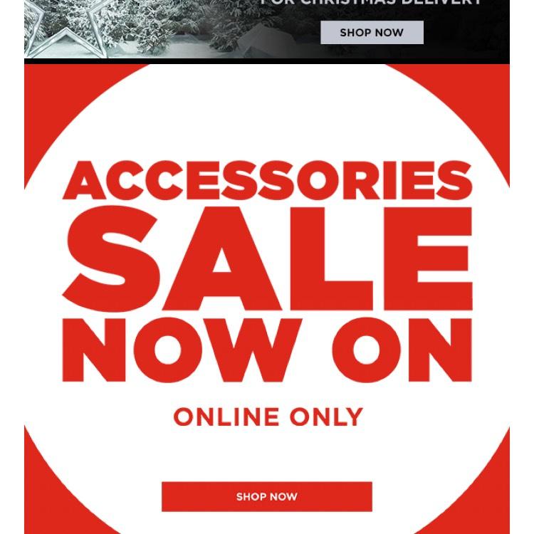 JD Sports accessories sale