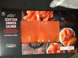 Tesco finest smoked salmon 300g instore - £4.25