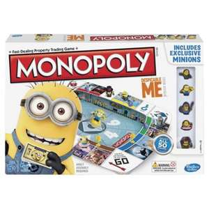 Monopoly Despicable Me 2 Minions Board Game - Was £25! now £12.50 / £15.50 delivered @ Tesco Direct