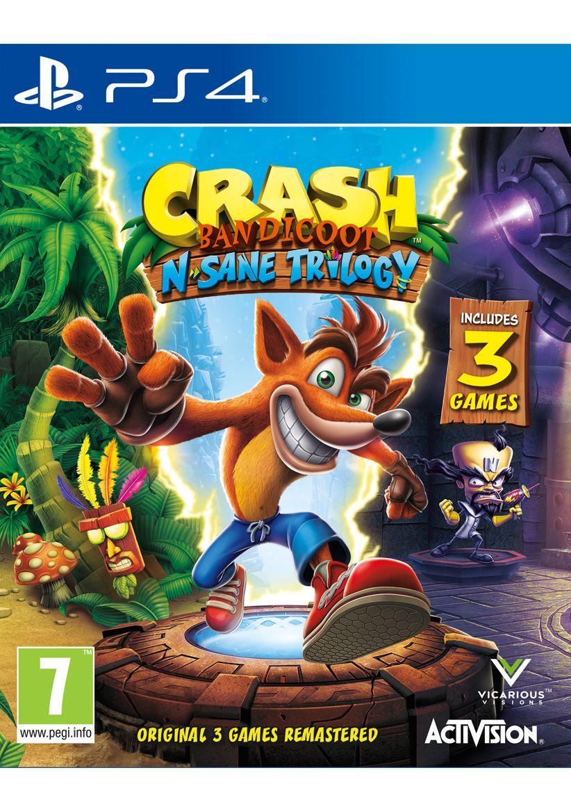 Crash Bandicoot N Sane Trilogy (PS4) - £19.99 @ Simply Games [Destiny 2 - £18.99]