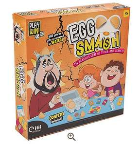 Play & Win Egg Smash - Was £20! now £9 / £12 delivered @ Tesco Direct