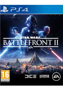 Star Wars: Battlefront II (PS4) £29.99 at Simplygames