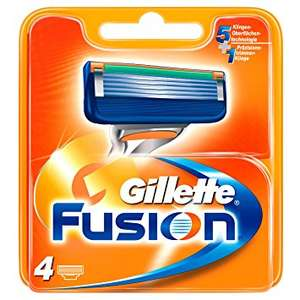 Gillette Fusion blades 2 for £15 or £11.79 each @ Boots - free C+C