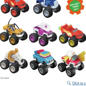 Fisher-Price Blaze Die Cast Cars - £2.99 @ Argos