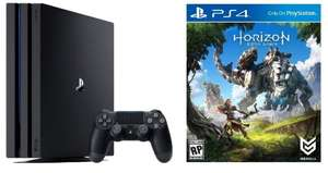 Ps4 pro 1TB w/ Horizon: zero dawn @ ebuyer £299.98