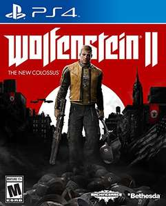 Wolfenstein II: The New Colossus PS4 on Amazon for £25.99