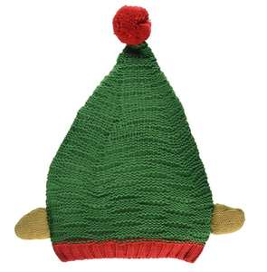 Knitted Christmas elf hat - £5 Prime / £8.99 non-Prime @ Amazon