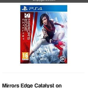 Mirrors Edge Catalyst on PlayStation 4 - £9.85 @ Simply Games