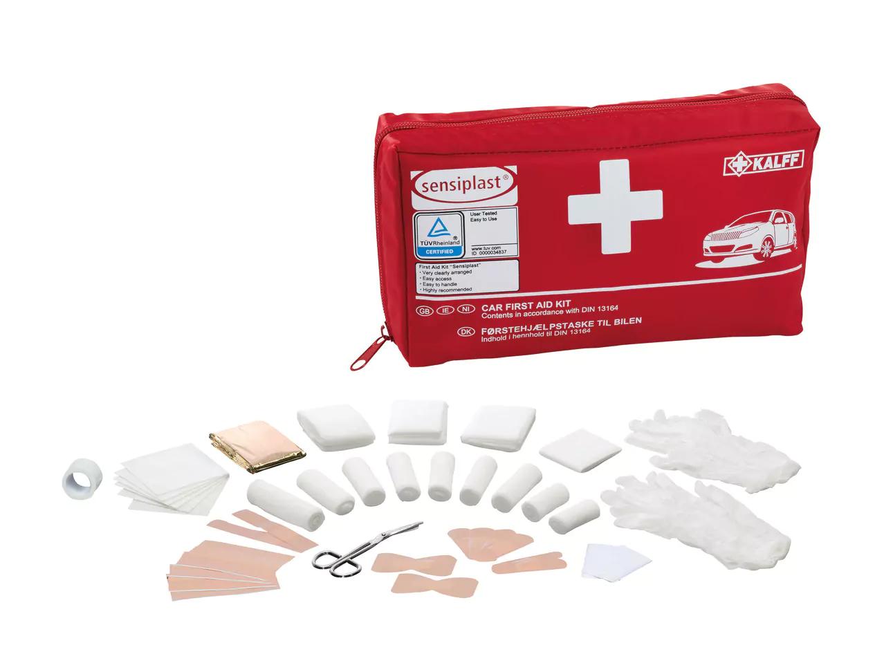Sensiplast Car First Aid Kit - £4.99 LIDL