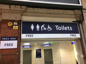 London Victoria train station toilets are now free to pee!