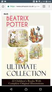 *KINDLE* Beatrix potter Ultimate Collection - 22 Children's Books With Complete Original Illustrations