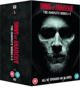 Sons of anarchy complete season 1-7 DVD box set save £98 plus extra 10%off - £21.99 @ Zavvi
