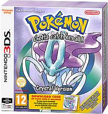 Pokemon Crystal (3DS) £9.99 preorder @ GAME