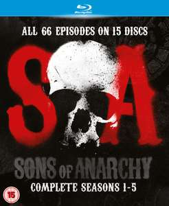 Sons of Anarchy - Seasons 1-5 Blu-ray, £26.10 from zavvi