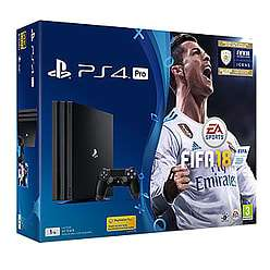 Playstation 4 Pro 1TB  FIFA Pack + Singstar + Prey + NOW TV - £299.99 @ GAME