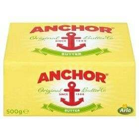 Anchor butter salted 500g £2.79 at Costco