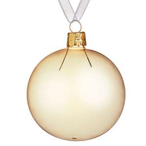 Christmas decorations starting from 60p @ John Lewis (available online)