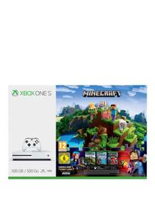 Xbox one s 500gb minecraft bundle. 50 £199.99 but 10% sign up discount or 10% back bnpl with Very making £180.