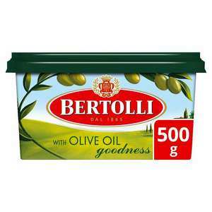 Bertolli Olive spread 500g (regular/light) £1 @ cooperative