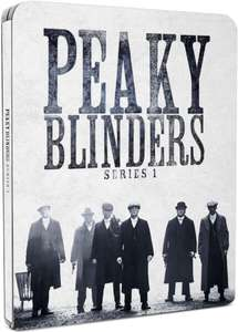 Peaky Blinders: Series 1 - Zavvi Exclusive Limited Edition Steelbook (Limited to 2000) Blu-ray £4.99 @ Zavvi  (Delivery free on orders £10+ otherwise £1.99)