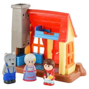 ELC Happyland little red riding hood set £12.80 @ John Lewis