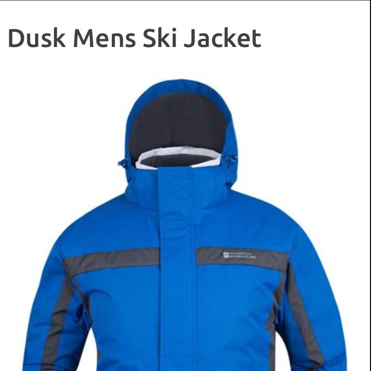 Dusk Mens Ski Jacket - £34 @ Mountain Warehouse (free C&C)
