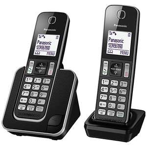 Panasonic KX-TGD312ED Digital Cordless Phone Twin - £29.95  @ John Lewis (C&C)