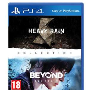 Heavy Rain and Beyond Two Souls Collection (PS4) £22.99 @ Amazon