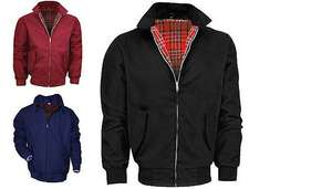 Mens Harrington Jacket - 3 colours @ £18.98 delivered @ GoGroopie