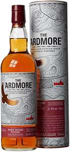 Ardmore 12 Year Old Port Wood Finish Single Malt Scotch Whisky 70 cl. 46% abv. - £35.99 @ Amazon
