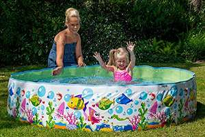 Amazon: Happy People 77728 Sea World Rigid Pool, 180 x 38 cm £6.61 for Prime Users