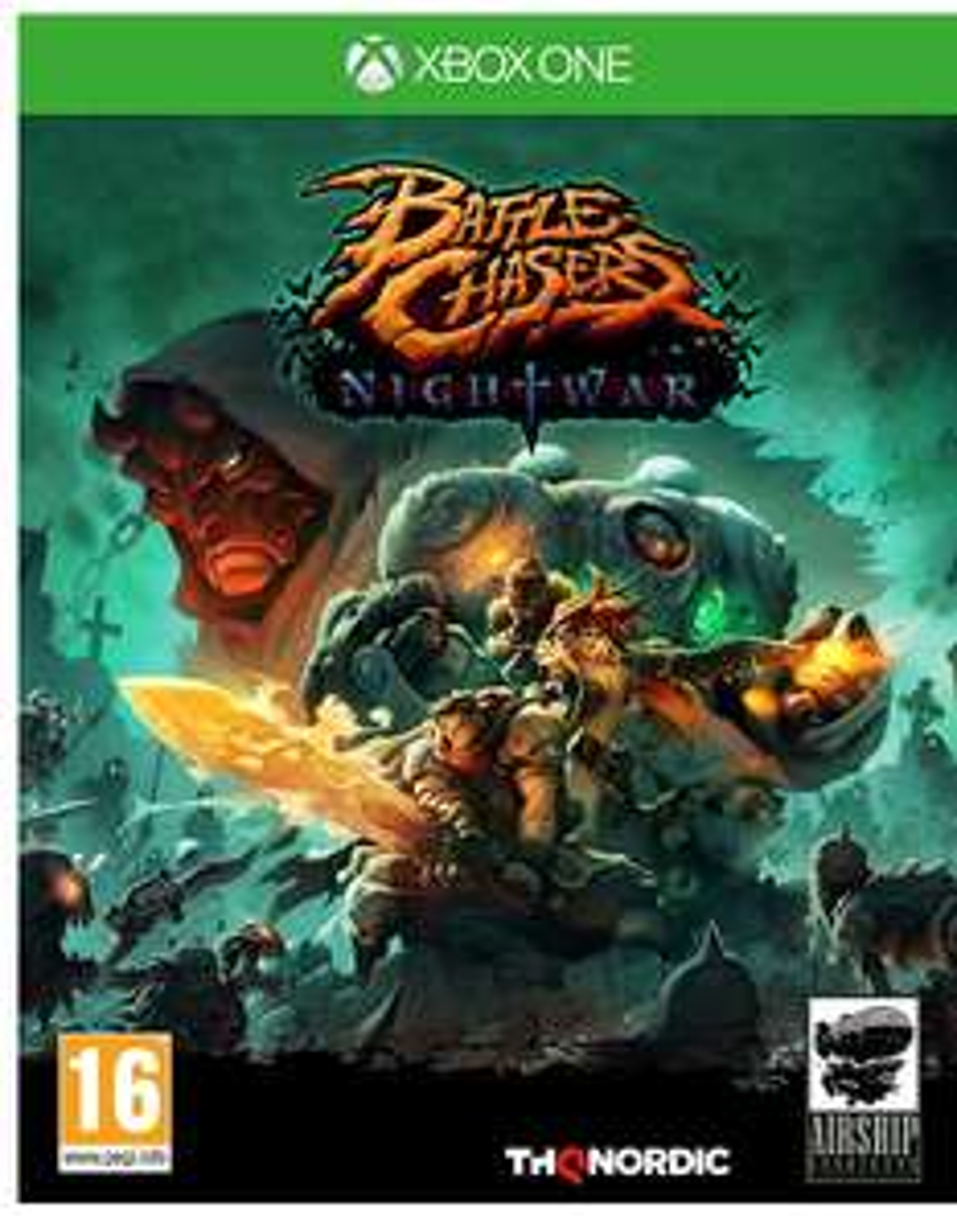Battle Chasers: Nightwar XB1 & PS4 £12.50 lightning deal (£14.49 non prime)